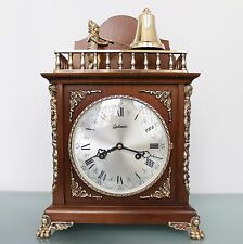 BELCANTO HERMLE ANIMATED Feature! TOP!!! Clock Vintage Chime Germany Mid Century