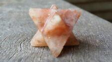 Sunstone Merkaba Star - 1.8-2cm - Sacred Geometry