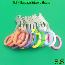 "NEW SET OF 5 Nurse EMT Medical 7.5"" Utility Bandage Scissors Shears Paramedic"