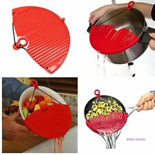 Hot Easy Kitchen Strainer Tools Vegetable Food Water Filter Strong Practicality