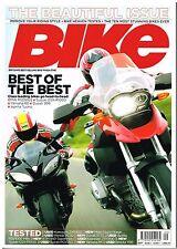 Bike Sept 2006 Aprilia Tuono Ducati 999 R6 GSX-R1000 R1200GS Bimota GSR-V NSR250