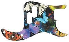 P Bass Precision Pickguard Custom Fender 13 Hole Guitar Pick Guard Butterflies