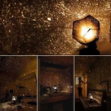 DIY Home Decor Astro Star Sky Laser Projector Romantic Cosmos Night Light Lamp