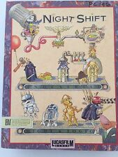 LucasFilm Night Shift ILM IBM PC Computer Game Complete Star Wars Vintage