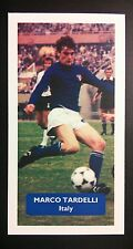 ITALIA-JUVENTUS-MARCO TARDELLI-punteggio UK FOOTBALL TRADE card
