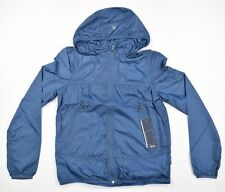 ROXY Women's Rain Runner Jacket Outerwear Coat SZ M Blue $88