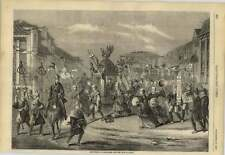 1858 The Entry Of Lord Elgin Into The City Of Jeddo