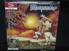 RHAPSODY Legendary Tales JAPAN SHM Mini LP CD Angra Luca Turilli Vision Divine