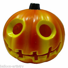 "3"" Light-up Plastic Halloween Jack-O'-Lantern Pumpkin Decoration"