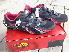 NORTHWAVE FIGHTER SBS CYCLING SHOES, BLACK/RED, SIZE 48,  BRAND NEW