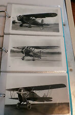 WWI & II U.S. ARMY BIPLANE AIRPLANES LOT OF 3 B&W 4X6 PHOTOGRAPHS SET #89