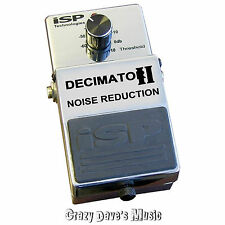 NEW ISP Technologies Decimator II Noise Reduction Pedal Version 2 V2