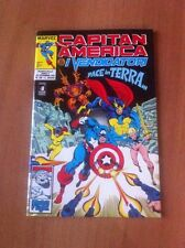 CAPITAN AMERICA & I VENDICATORI nr 35 STAR COMICS 1991 MARVEL ALPHA FLIGHT
