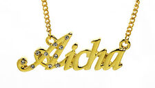 18K Gold Plated Necklace With Name AICHA - Neckless Love Fashion Designer Gifts