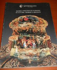 catalogo asta 1324 Semenzato - mobili italiani ed europei sculture marmi argenti