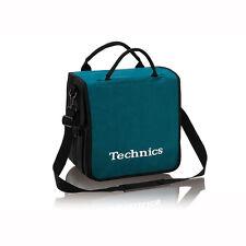 Technics Dj Record Bag Ruck Sack 50 vinyl Turquoise / White Logo SL 1200 SL 1210