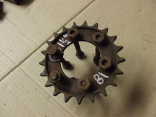 VINTAGE 21T GEARBOX FINAL DRIVE SPROCKET 6 BOLT TYPE MAY FIT BSA NORTON TRI 18