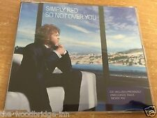 SIMPLY RED SO NOT OVER YOU CD1 CD SINGLE CCA