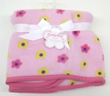 Cutie Pie Blanket Pink Baby Girl  New Born Infant  36 X 36 Lovely Blush Pink