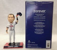 Chipper Jones FAREWELL SALUTE Atlanta Braves **Only 125 Made** Bobble Bobblehead