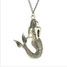 Betsey Johnson Silver Mermaid Necklace