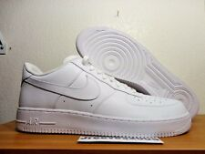Nike Air Force 1 Low '07 WHITE Sz 17 100% Authentic AF1 Supreme 315122 111