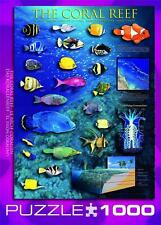 EUROGRAPHICS JIGSAW PUZZLE THE CORAL REEF 1000 PCS OCEAN #6000-1170
