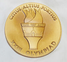 1984 Los Angeles Olympics ATHLETE PARTICIPATION MEDAL