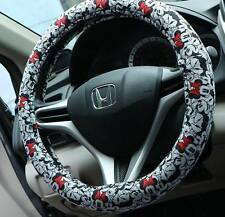 2017 NEW LISTING NAPOLEX Disney Minnie Mouse Car Steering Wheel Cover