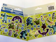 Disney Monsters Inc University Stickers (2 sheets) Party Favors Teacher Supply