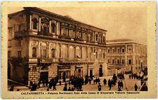 Cartolina Formato Piccolo - Caltanissetta - Palazzo Bordonaro Sede Della Cassa D