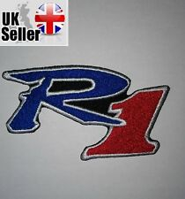 Yamaha R1 Iron-on/sew-on Embroidered Patch Motorcycle Biker Kawasaki