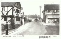 Surrey Postcard - Old Oxted - High Street c1928 - Showing Policeman   F975