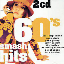 60's Smash Hits Various Artists MUSIC CD