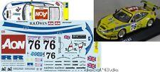 1/43 Decal Porsche 911 GT3 RS 'PK Sport' 24h Le Mans 2001