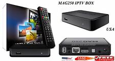 NEW MAG 250 IPTV Set-Top-Box BRAND NEW MAG250 MULTIMEDIA TV IP HDTV 1080p in US