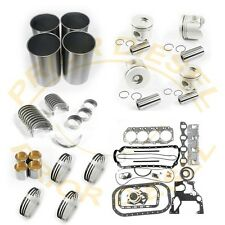 Isuzu 4JG1T Engine Rebuild Kit&oil Pumps&Plug Glows&Crankshaft For MTL140