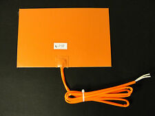 200 Watt 12 V Volt Silicone Pad Tank Heater Waste Vegetable Oil  Biodiesel WVO