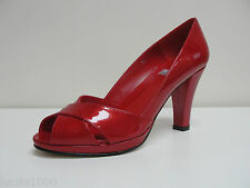 Fabulous HB Amelia red patent peep toe courts, UK 5.5/EU 38.5, RRP £109, BNWB