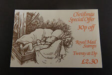 GB Folded Stamp Booklet FX7 1984 Christmas Underprinted 1267Eu 10% OFF ANY 5+