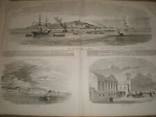 Views of Kertch Kerch Ukraine 1855 old prints and article