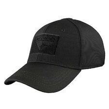Condor Tactical Flex Fexfit Contractor Ball Cap BLACK Military Combat LARGE XL