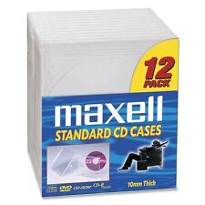 Maxell 190069  CD/DVD Jewel Cases CD-360 - Jewel Case - Book Fold - Plastic -