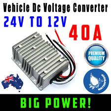 NEW 24V DC TO 12V DC Automobile Converter Reducer 40 AMP Step Down 40A