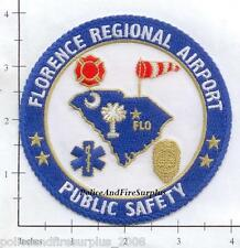 South Carolina - Florence Regional Airport Public Safety SC Fire Dept Fire Patch