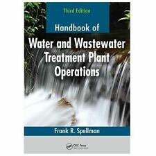HANDBOOK OF WATER AND WASTEWATER TREATMENT PLANT OPERATIONS - NEW PAPERBACK BOOK