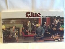 Vintage 1972 CLUE Detective Board Game FACTORY SEALED NEW Parker Brothers