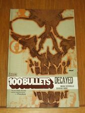 100 Bullets Decayed Vol 10 by Brian Azzarello (Paperback, 2011)  9781401209988