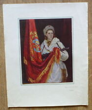OLD SOVIET RUSSIA MILITARY POSTER BY LUKOMSKY WW2 OATH SOLDIER WOMAN BANNER FLAG