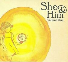 Volume One [Digipak] by She & Him (CD, Mar-2008, Merge)